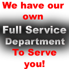 We have our own Full Service Department To Serve You!  www.applianceassociates.com